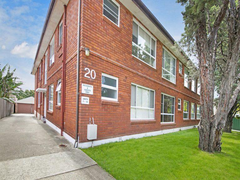 7/20 Herbert Street Dulwich Hill , NSW 2203 AUS